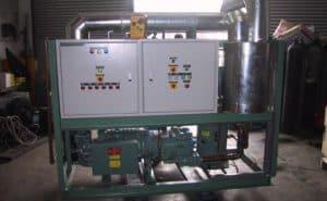 Built-Up Bitzer Screw Compressor Pack (70Hp)